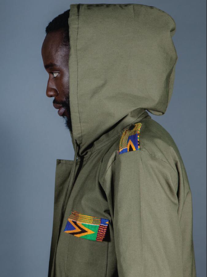 Men's Utility Parka Jacket – Khaki