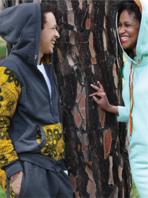 Men's Tracksuits – Charcoal & Yellow